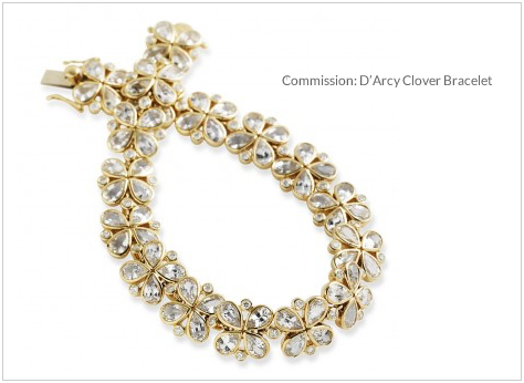 Commission- D'Arcy Clover Bracelet