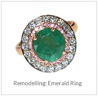 Remodelling - Emerald Ring