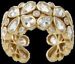 white sapphire and diamond eternity band